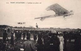 France Port Aviation Latham Sur Antoinette Foule Ancienne Carte Postale CPA Vers 1909 - ....-1914: Precursors