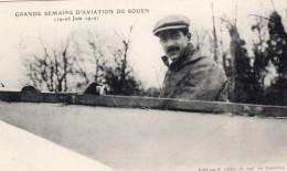 France Rouen Semaine D'Aviation Emile Dubonnet Ancienne Carte Postale CPA Vers 1910 - ....-1914: Précurseurs