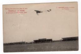 France Baie De Seine Trouville Aviation Morane Sur Bleriot Ancienne Carte Postale CPA Vers 1910 - ....-1914: Precursors