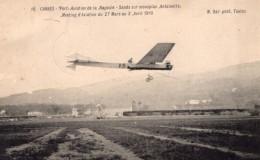 France Cannes Aviation Hayden Sands Sur Monoplan Antoinette Ancienne Carte Postale CPA Vers 1910 - ....-1914: Precursors