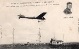 France Aviation Labouchere Sur Monoplan Antoinette Ancienne Carte Postale CPA Vers 1910 - ....-1914: Precursors