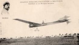 France Aviation Rene Thomas Sur Monoplan Antoinette Ancienne Carte Postale CPA Vers 1910 - ....-1914: Precursors