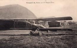 France Le Bourget Aviation Biplan Nieuport Delage 29 Ancienne Carte Postale CPA Vers 1928 - ....-1914: Precursors