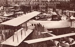 France Salon D'Aviation Biplan Caudron C25 Ancienne Carte Postale CPA Vers 1919 - ....-1914: Precursors