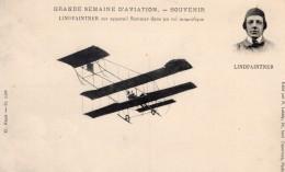 France Aviation Lindpaintner Sur Biplan Sommer Ancienne Carte Postale CPA Vers 1910 - ....-1914: Precursors