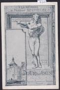 Genève ; Philibert Berthelier, Statue Tour Bel-Air Publicité Deytard Et Vincent Photographes (14'662) - GE Genève