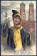 1904 ALEMANIA - MÜNICH , TARJETA POSTAL CIRCULADA , CERVEZA , BREWERIANA - Escenas & Paisajes