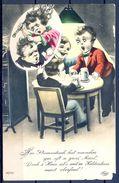 1914 ALEMANIA  , TARJETA POSTAL CIRCULADA , CERVEZA , BREWERIANA - Tarjetas Humorísticas