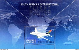 South Africa - 2016 SAA International Flight Routes Airbus MS (**) - Flugzeuge
