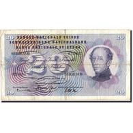 Suisse, 20 Franken, 1963, 1963-03-28, KM:46j, TTB - Switzerland
