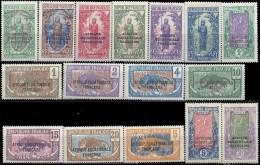 CONGO - Série Courante 1924 - Congo Français (1891-1960)