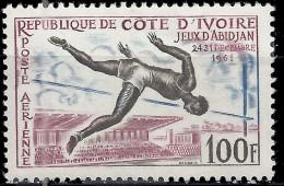 COTE D'IVOIRE - Jeux D'Abidjan (poste Aérienne) - Ivory Coast (1960-...)