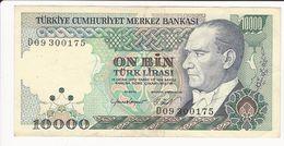 Turkey 10000 Lira 1970 - Turquie