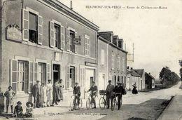 51 BEAUMONT-SUR-VESLE - Route De Châlons-sur-Marne - Très Animée - Hôtel De L'Etoile D'Or - France