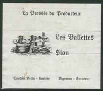 Rare // Etiquette // Les Ballettes, Candide Bribh, Sion Valais,  Suisse - Etiquettes