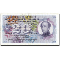 Suisse, 20 Franken, 1964, 1964-04-02, KM:46k, TTB - Switzerland