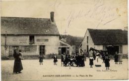 51 SAVIGNY-SUR-ARDRES (234 Hab.) - La Place Du Bas - Très Animée - France