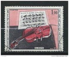 FRANCE - N° 1459 - Le Violon Rouge De Raoul Dufy - O - Gebraucht