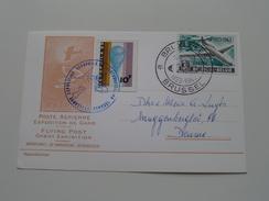 Poste Aèrienne EXPOSITION De GAND - FLYING POST Ghent Exhibition ( 1963 Bruxelles / Zie Foto ) ! - Airmail