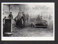 91 Brétigny Sur Orge / Guerre 1914/1918 / Station Magasin / Torréfaction Du Café  / Photo Reproduction (fond Neudin) - Bretigny Sur Orge