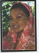 Mayotte - Masque De Beauté (Mousitzano) Cp Vierge Photo Schaub - Portrait Femme - Mayotte