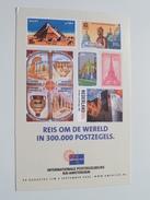 AMPHILEX 2002 ( Reis Om De Wereld In 300.000 Postzegels ) AMSTERDAM ( Zie Foto ) ! - Poste & Facteurs