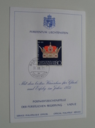 1971 Glückwünsche VADUZ ( Voir Photo ) ! - Cartes-Maximum (CM)