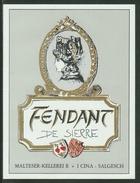 Rare // Etiquette // Fendant De Sierre, I.Cina, Salgesch, Valais Suisse - Etiquettes
