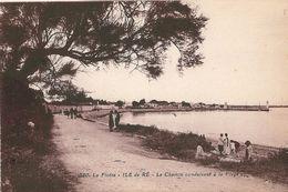 17   LA FLOTTE -  LE CHEMIN CONDUISANT à La PLAGE - Ile De Ré
