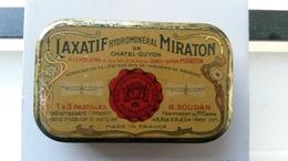 Boite Ancienne Médicament MIRATON Chatel-guyon - Autres