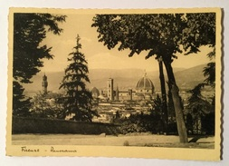 FIRENZE PANORAMA VIAGGIATA FG - Firenze