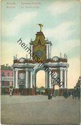 Moskau - La Porte Rouge Ca. 1910 - Russland
