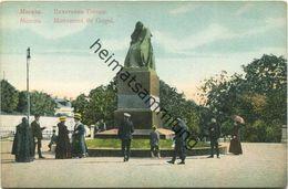 Moskau - Monument De Gogol Ca. 1910 - Russland