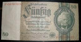 Billet 50 Reichsmark SUPERBE ETAT - 1939-45