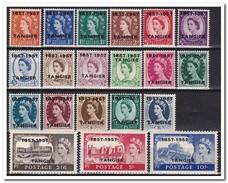 Tanger 1957, Britisch Post, Postfris MNH - Marokko (1956-...)