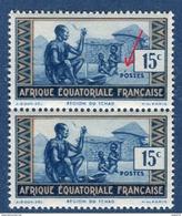 France / A.E.F. - Variété N°Yvert 192    2 Scans Recto Et Verso  Réf. D 153 - Ungebraucht