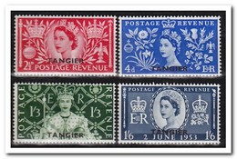 Tangier 1953, Britisch Post, Postfris MNH - Marokko (1956-...)