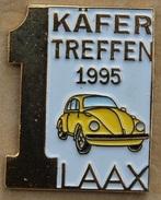VW - COCCINELLE JAUNE - 1 KÄFER TREFFEN 1995 - LAAX - SUISSE - SCHWEIZ - SWISS - SWITZERLANND -       (19) - Volkswagen