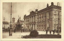 AK Berlin Marstall Begas-Brunnen & Rathaus Heliogravüre ~1920 #352 - Mitte