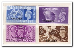 Tangier 1948, Britisch Post, Postfris MNH, Olympic Games - Marokko (1956-...)