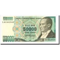 Turquie, 50,000 Lira, 1970, 1970, KM:203a, SUP - Turchia