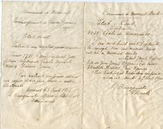Preuss Moresnet Belge ET Neutre 1906 Acte De Naissance Signés Par Les Bourgmestres - Historische Dokumente