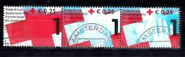 Nederland 2012 NVPH Nr 2902 A,b,c Mi Nr  2942 - 2944 Het Rode Kruis, Red Cross - Period 1980-... (Beatrix)