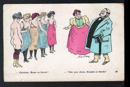 Illustrateur Xavier Sager, N°40, Choisissez, Brune Ou Blonde ? - Sager, Xavier