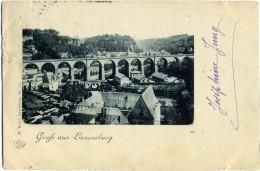 LUXEMBOURG  LUSSEMBURGO  Grusse Aus ..  Panorama  Viaduct - Lussemburgo - Città