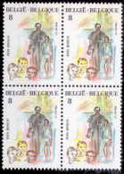 Belgium 2129** X 4  Canonisation Don Bosco  MNH - Belgien