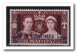 Marokko 1937, Britisch Post, Postfris MNH - Marokko (1956-...)