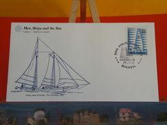 Voilier > Schooner Great Lakes 1852 > Turkey > Istanbul > 28.7.1977 - FDC 1er Jour - 1921-... República