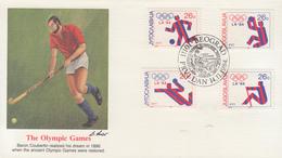 Enveloppe  FDC  1er  Jour   YOUGOSLAVIE    Jeux  Olympiques   LOS  ANGELES   1984 - Summer 1984: Los Angeles