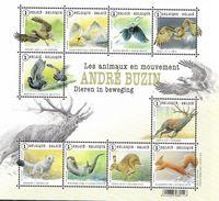 Belg. 2015 - COB N° Bloc 225 ** - Les Animaux En Mouvement  (timbres 4497 à 4506) - België